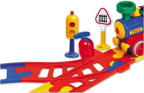 Tolo Toys Train Points set