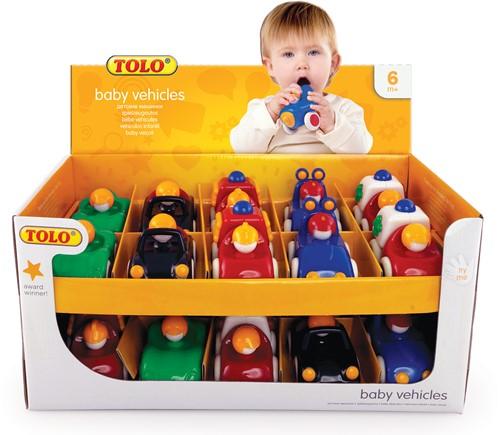 Tolo Toys - Baby Auto's 20 stuks