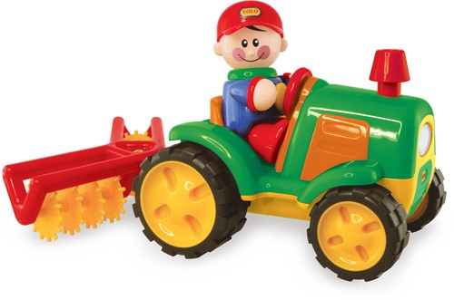 Tolo Toys Tractor and Cultivator Set