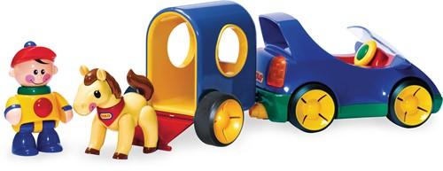 Tolo Toys Pony Trailer - Boy