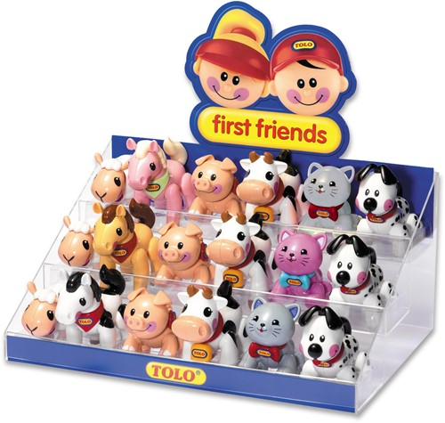 Tolo Toys Display - Farm Animals starter pack 1