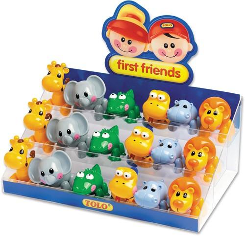 Tolo Toys Display - Safari Animals starter pack 1