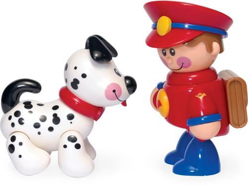Tolo Toys Postman & Puppy
