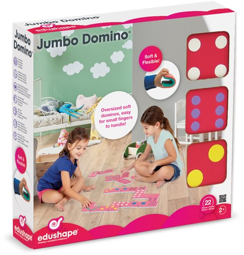 Edushape Jumbo Domino - Stippen