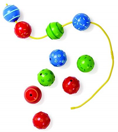 Edushape Baby  Beads - 14 pcs