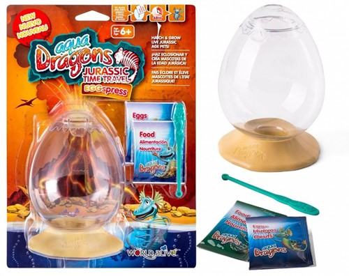 Aqua Dragons® Jurassic Time Travel Eggspress