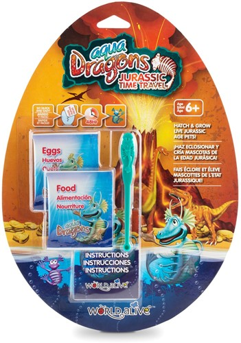 Aqua Dragons® Jurassic Time Travel Navulling