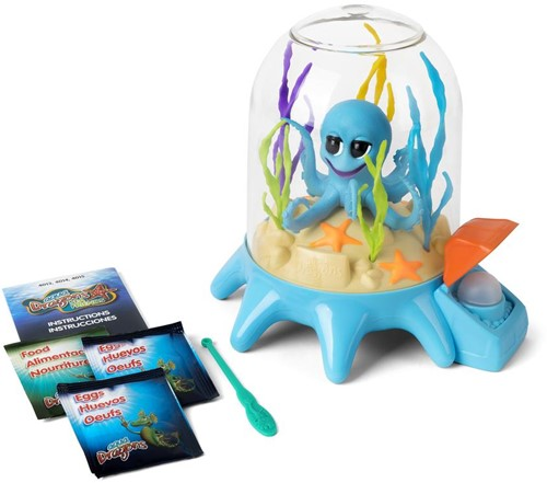 Aqua Dragons® Zeevrienden Octopus Met Bellenpomp