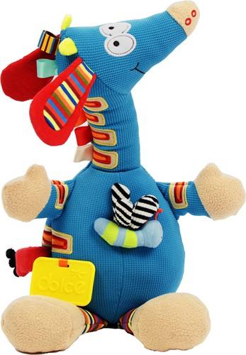 Dolce Toys activiteitenknuffel MuzikaleGiraffe