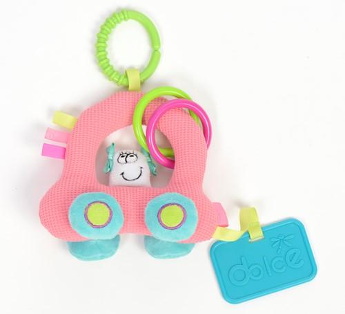 Dolce Toys Stoffen Auto
