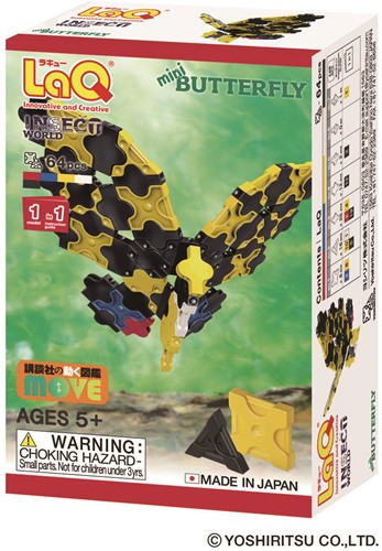 LaQ Insect World Mini Butterfly
