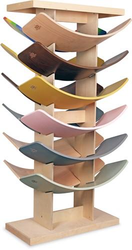Kinderfeets Balance Boards display gevuld