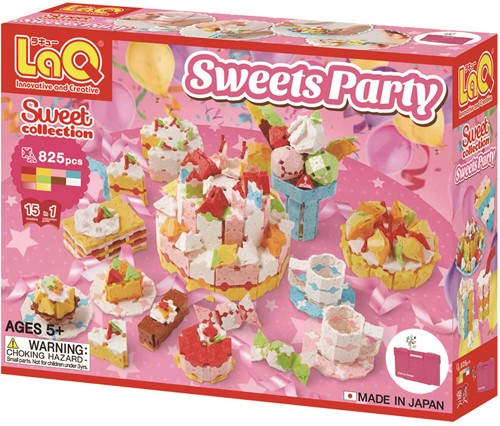 LaQ Sweets Party