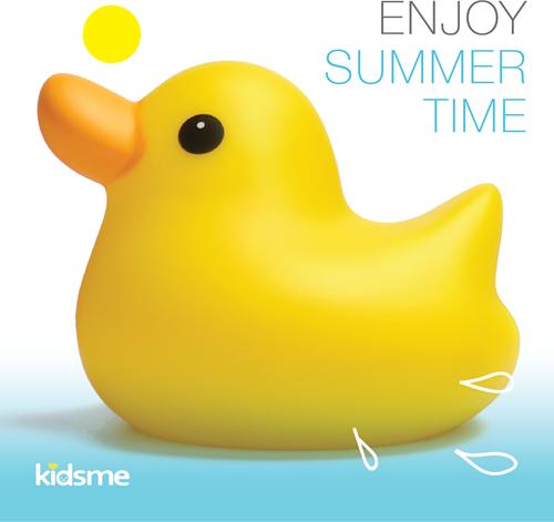 KidsMe Bath Time Duck Yellow