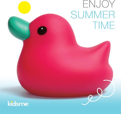 KidsMe Bath Time Duck Pink
