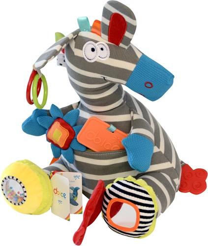Dolce Toys Activiteiten Zebra